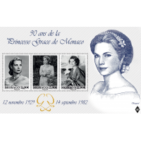 90TH ANNIVERSARY OF THE BIRTH OF PRINCESS GRACE OF MONACO