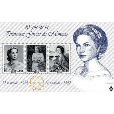 90TH ANNIVERSARY OF THE BIRTH OF PRINCESS GRACE OF MONACO