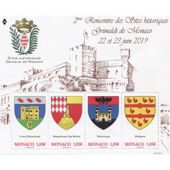 HISTORICAL SITES OF THE GRIMALDIS OF MONACO