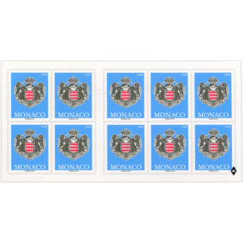 """SELF-ADHESIVE BOOKLET OF 10 POSTAGE-STAMPS """"ECOPLI"""" WITH PERMANENT VALIDITY"""