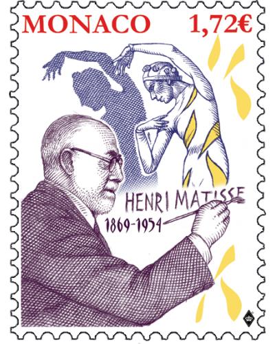 150th ANNIVERSARY OF THE BIRTH OF HENRI MATISSE