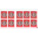 SELF-ADHESIVE BOOKLET OF 10 POSTAGE-STAMPS WITH PERMANENT VALIDITY PRIORITARY