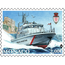 NEW BOAT FOR THE MONACO'S MARINE AND AIRPORT POLICE DIVISION