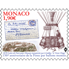 "150th ANNIVERSARY OF THE ""BALLONS MONTÉS"""