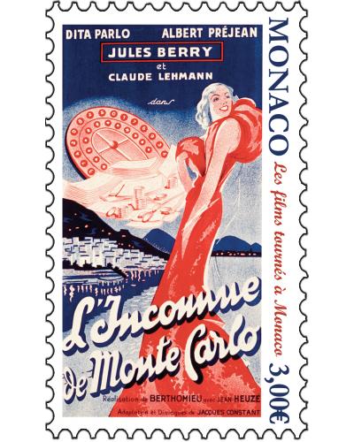 FILMS SHOT IN MONACO - UNKNOWN OF MONTE-CARLO