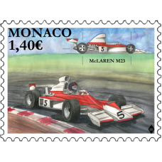 LEGENDARY RACE CARS - MC CLAREN M23