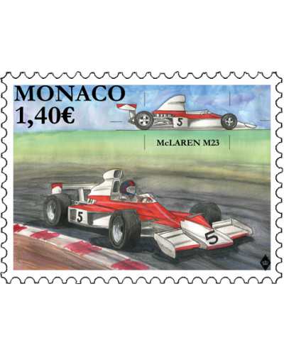 LEGENDARY RACE CARS - MC CLAREN M23