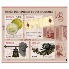 25th ANNIVERSARY OF THE OPENING OF THE MONACO MUSEUM OF STAMPS AND COINS