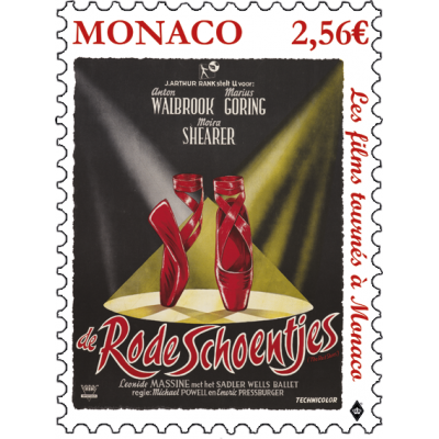 FILMS SHOT IN MONACO - THE RED SHOES