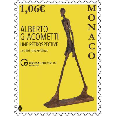 ALBERTO GIACOMETTI EXHIBITION AT GRIMALDI FORUM