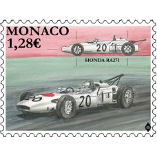 LEGENDARY RACE CARS - HONDA RA271