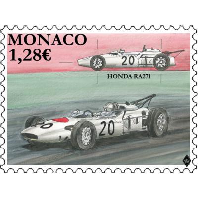 LEGENDARY RACE CARS - HONDA RA271