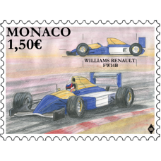 LEGENDARY RACE CARS - WILLIAMS RENAULT FW14B