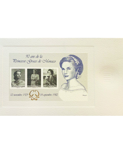 "SPECIAL PRINT ""90th ANNIVERSARY OF PRINCESS GRACE OF MONACO"""