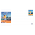ILLUSTRATED ENVELOPE WITH STAMP - MONTE-CARLO ROLEX MASTERS 2013