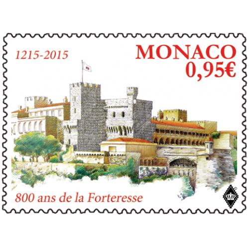 2 Euro 800 Jahre Bau Des Ersten Schlosses Auf Dem Felsen Von Monaco