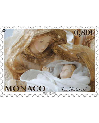 POSTCARD OF THE 2016 CHRISTMAS STAMP