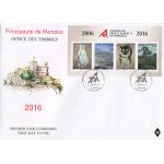 BLOC 10 ANS DE LA FONDATION PRINCE ALBERT II DE MONACO