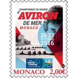 CHAMPIONNAT DU MONDE D'AVIRON DE MER A MONACO