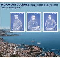 "EXHIBITION ""MONACO AND THE OCEAN, FROM EXPLORATION TO PROTECTION"""