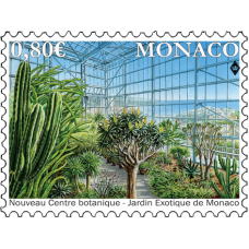 THE NEW BOTANICAL CENTRE OF THE EXOTIC GARDEN OF MONACO