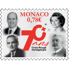 70th ANNIVERSARY OF THE MONÉGASQUE RED CROSS