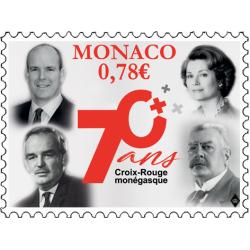 70e ANNIVERSAIRE DE LA CROIX-ROUGE MONEGASQUE