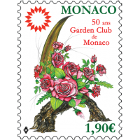 50th ANNIVERSARY OF THE GARDEN CLUB OF MONACO