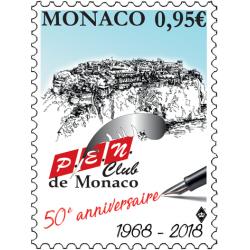 50e ANNIVERSAIRE DU P.E.N. CLUB DE MONACO