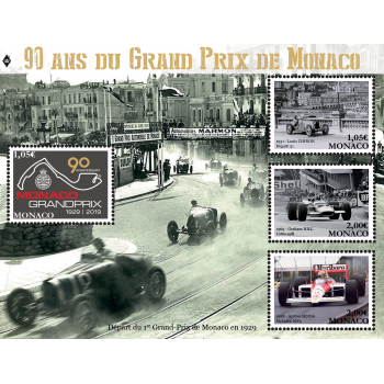90th ANNIVERSARY OF THE MONACO GRAND PRIX