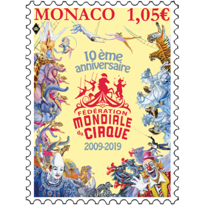 10 YEARS OF THE FÉDÉRATION MONDIALE DU CIRQUE