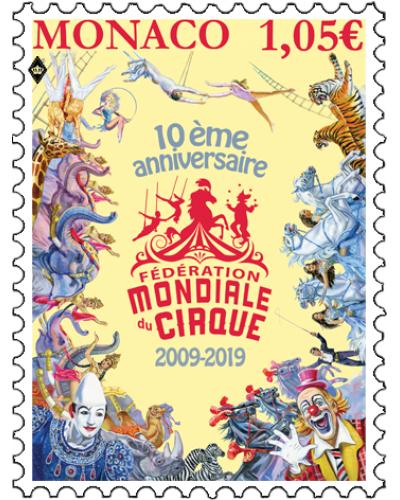 10 YEARS OF THE FÉDÉRATION MONDIALE DU CIRQUE
