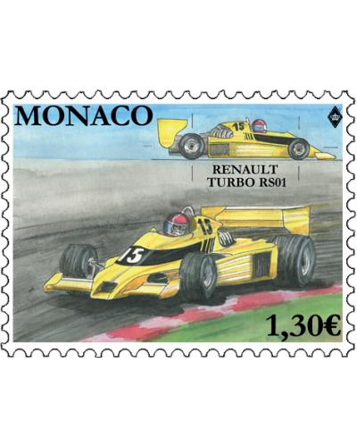 LEGENDARY RACE CARS - RENAULT TURBO RS01