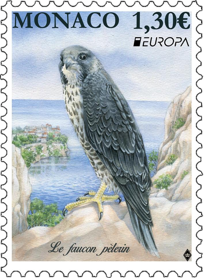 摩纳哥5月6日发行欧罗巴2019国家鸟类邮票